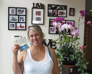 2015 Mother's Day Raffle Winner